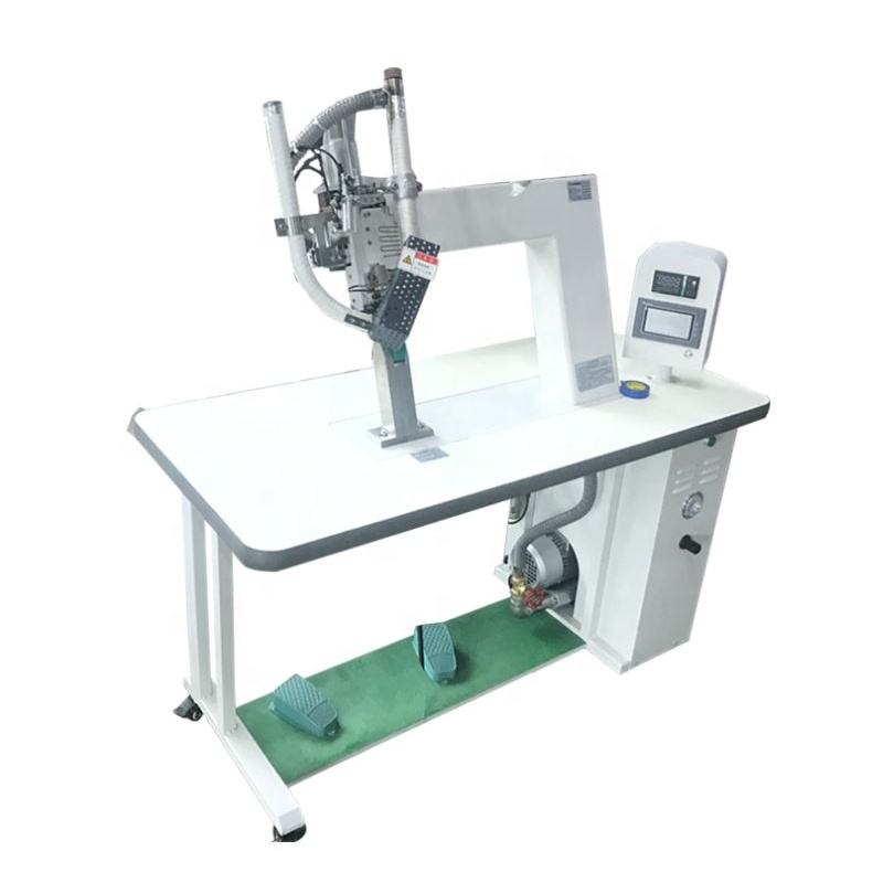 Hot air welding machine Hot Air Seam Sealing Machinery Protective clothing press Protective clothing rubber strip press