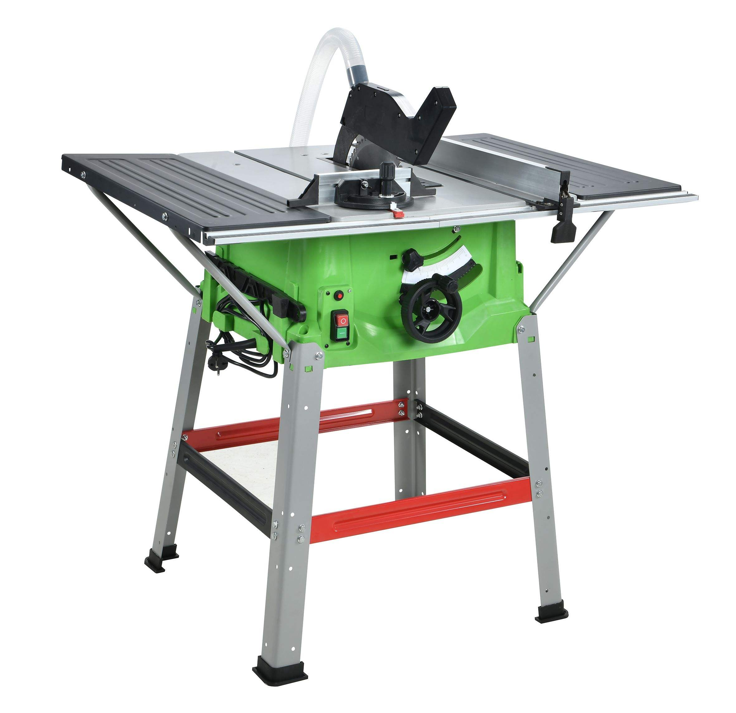 WORKS Top quality table saw woodworking circular table bench saw with long life TCT blade 255mm table saws for woodworking