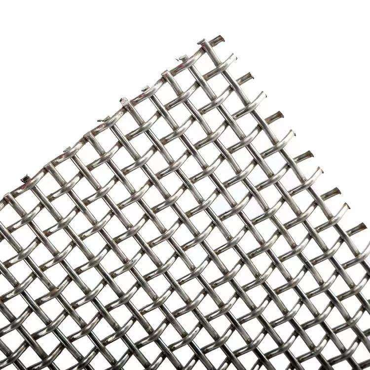 Mesh 1 Wire 2mm Factory Price Woven Stainless Steel Wire Mesh
