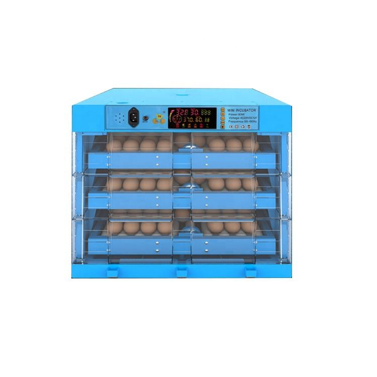 Online Service Temperature Humidity Controller Chicken Quail Large Egg Incubators Automatic Incubators Used //