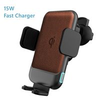 New Arrival 2020 Automatic Induction 15W KC Certificate Car Wireless Charger Phone Holder for iphone12