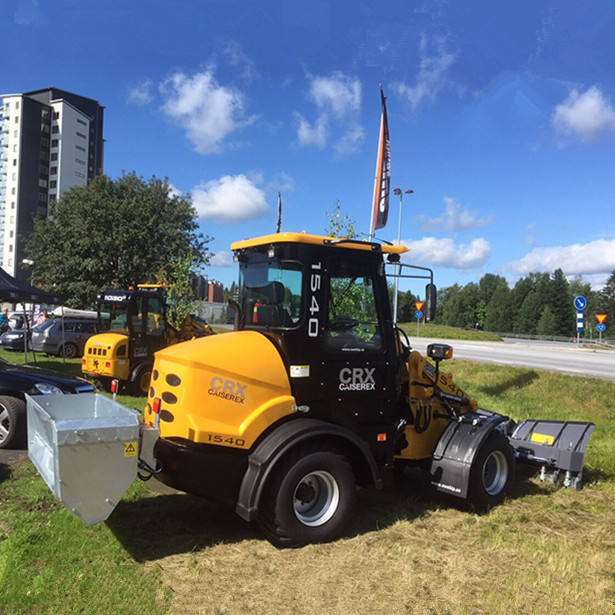 1000kg China CAISE mini wheel loader with Euro3 Engine