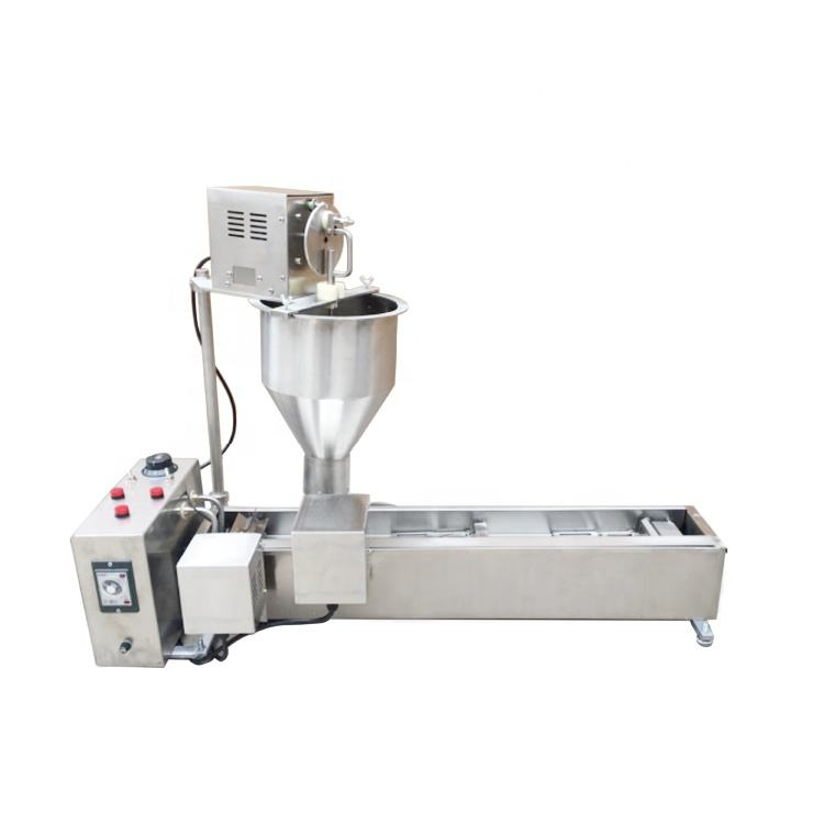 Commercial Cooking Equipment Snack Machinery Single Row Automatic Mini Donut Machine