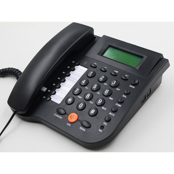 Corded Desk Caller ID Telephone Home Office Fixed Phone with multifunction