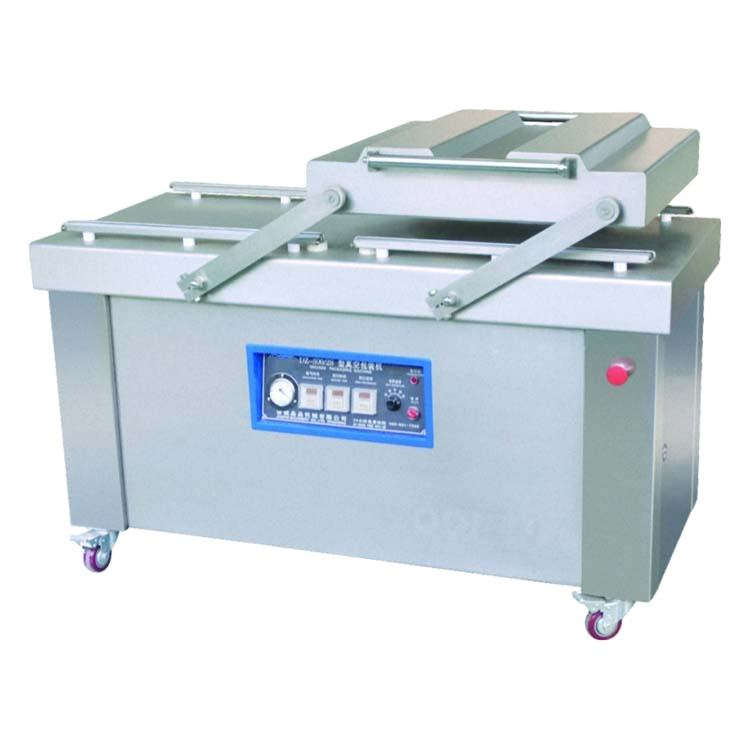 CE Certified Nitrogen Filling/Vacuum Double Chambers Packer Machine