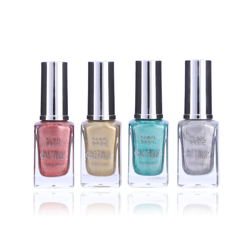 Factory OEM Metallic Nail Polish Custom Private Label Water Based Eco-Friendly Non Toxic Halal Nail Polish