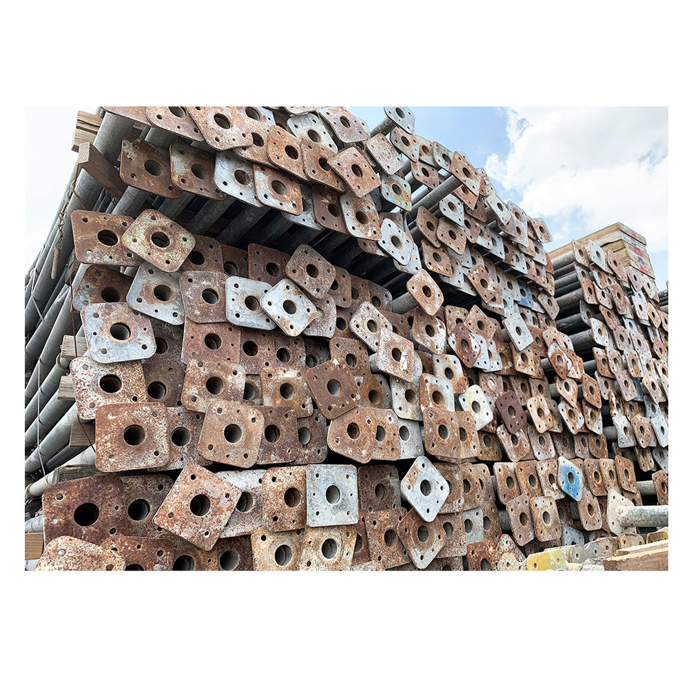 Used cheap iron steel props for construction formwork material