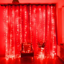 Multicolor 8 models color changing LED curtain wall string lights