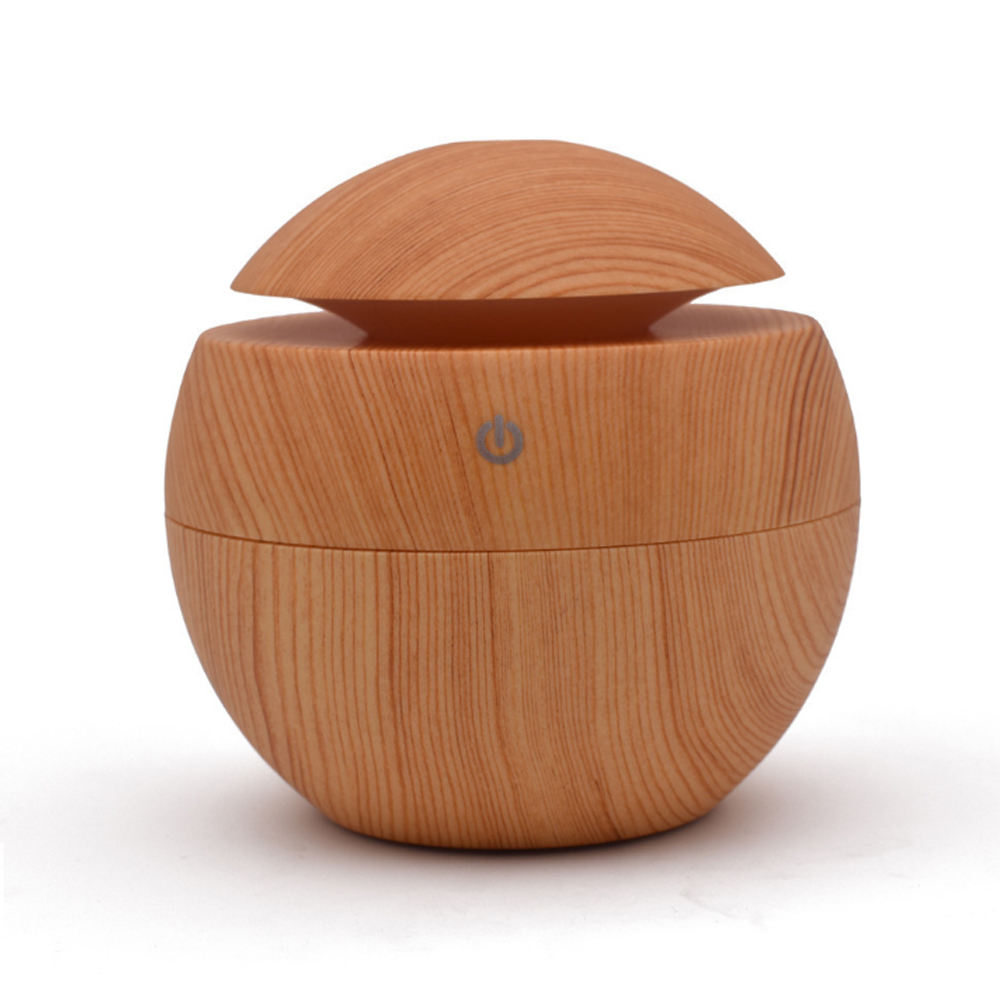 Exquisite130Ml Wood Grain Ultrasonic Humidifier For Wholesale