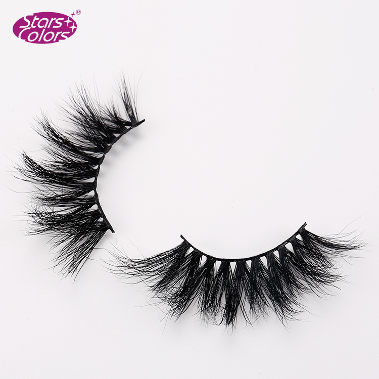 25MM Eyelash Book 3d Mink Eyelashes With Custom Packaging