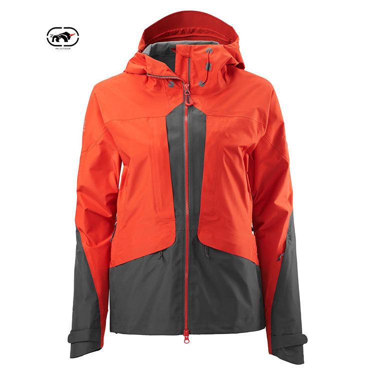 Women Clothes Windbreaker Jackets Well Designed Running Winter Waterproof 100% Polyester OEM Service Zipper Stand Windproof