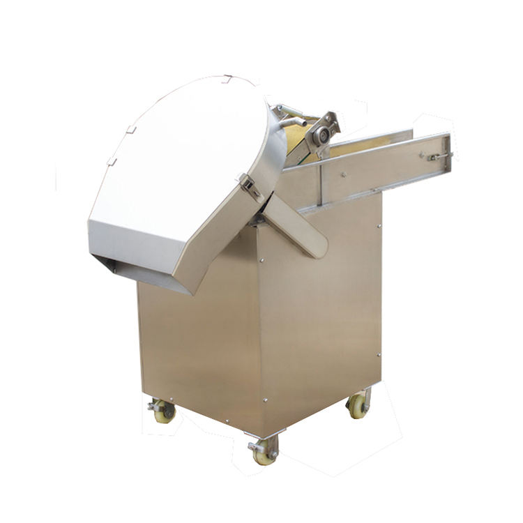 Industrial Leave Vegetables Fruits Cabbage Pepper Carrot Beveled Cutting Dicing Shredder Machine