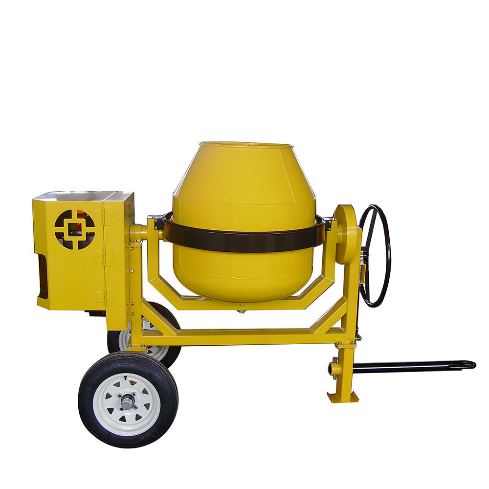 450L portable concrete mixers diesel motor cement mixers prices