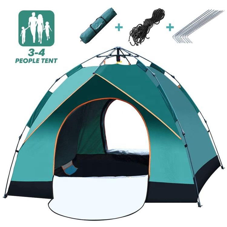YAUNFENG outdoor products tents for 3-4 peoples family tent