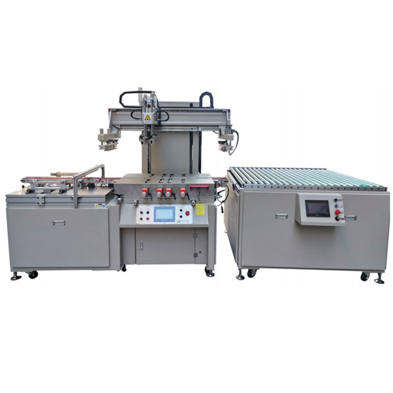 High Accurately Printing Display Glass print screen machine automatic