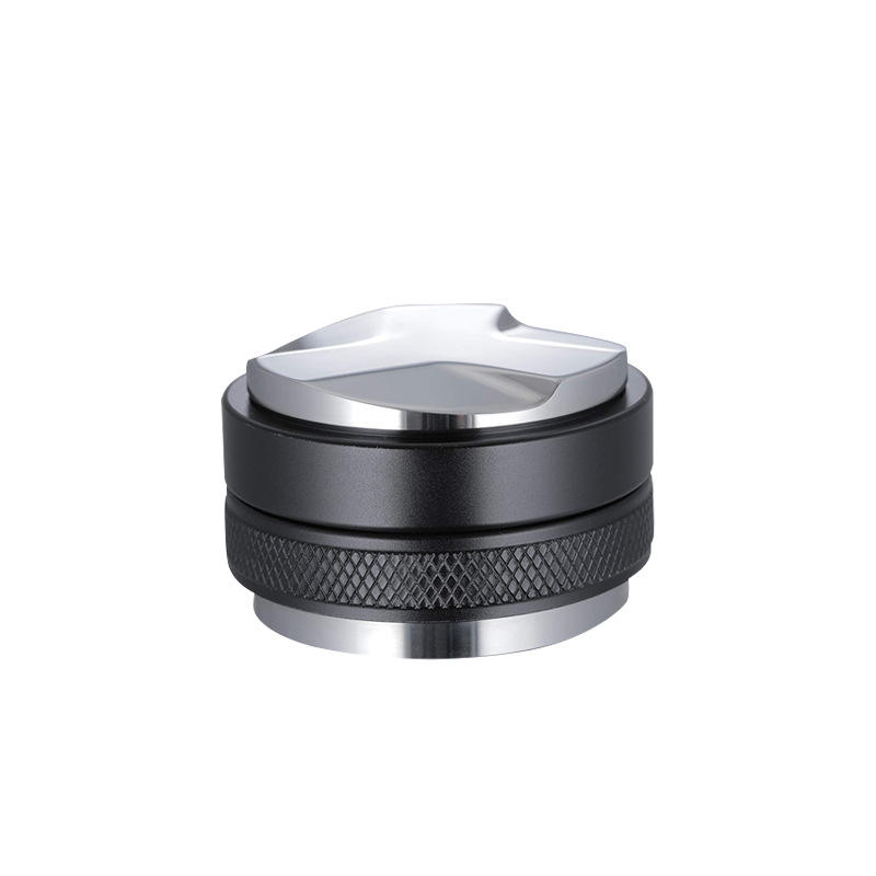 Hot Sell 51mm 53mm 58mm Black Double Side Coffee Distributor Stainless Steel Coffee Tamper