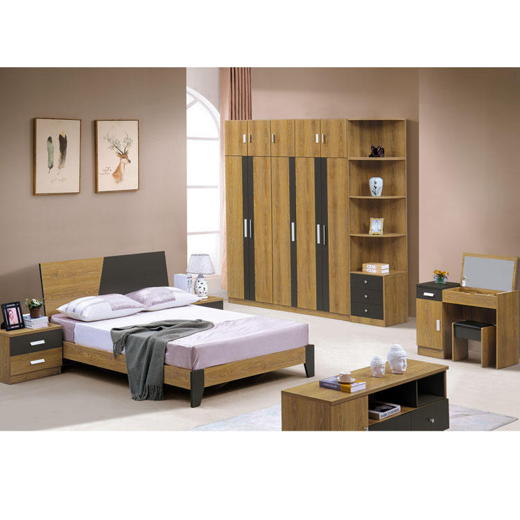 Full Set King Size Modern Home Furniture Bedroom Set