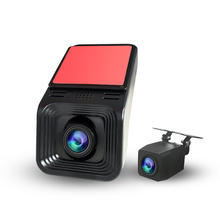 Dual 1080P Lens Dash Cam Dashboard Front and rear Camera Recorder Dvr With WIFI in Car Black Box