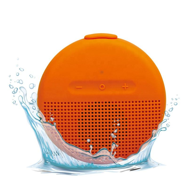 Hot IPX7 waterproof bluetooth speaker wireless floating speaker BT2107 for shower and outdoor use