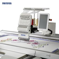 FORTEVER automatic computerized Embroidery machine FT-700*1200MM single1head big/lager working area machine spare part tshirt