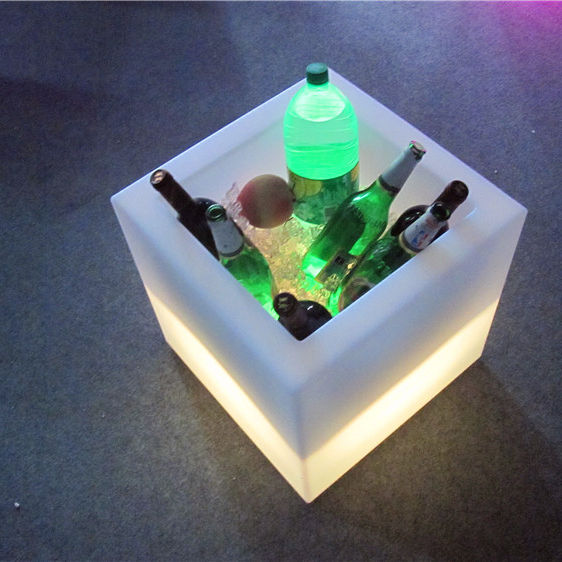 led lighting ice bucket cube for night club