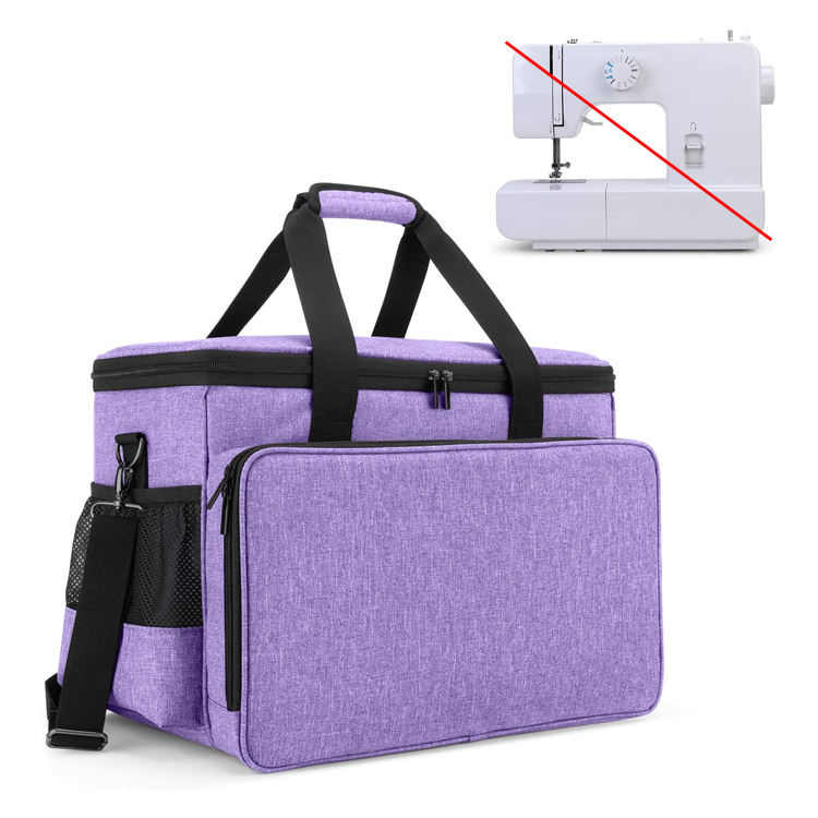 Stylish Custom Large Sewing Machine Carrying Tote Bag for Sewing Beginner