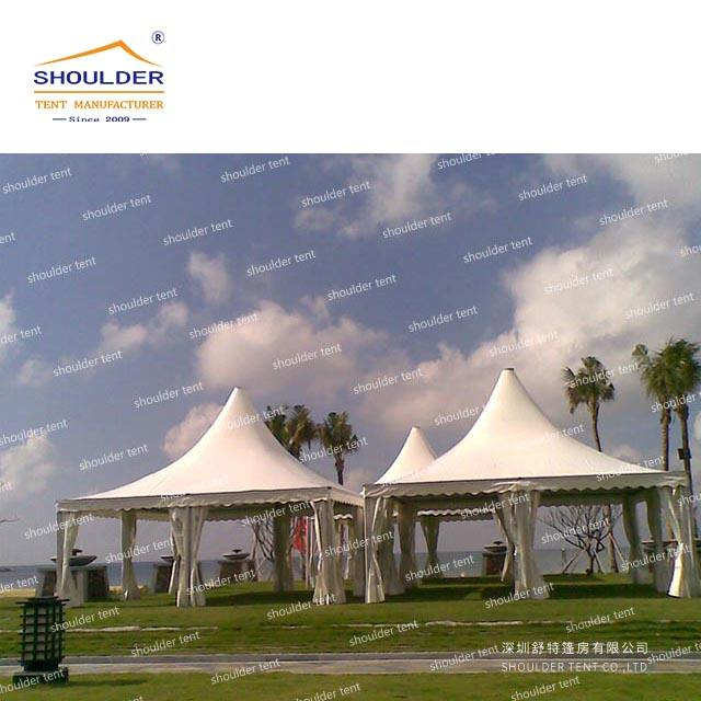 Chinese factory promotion large party gazebo tent for sale