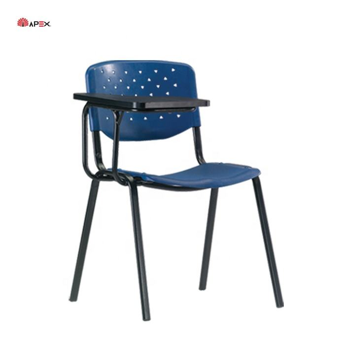 Malaysia Apex High Quality School Classroom Student Study Chair With Writing Pad