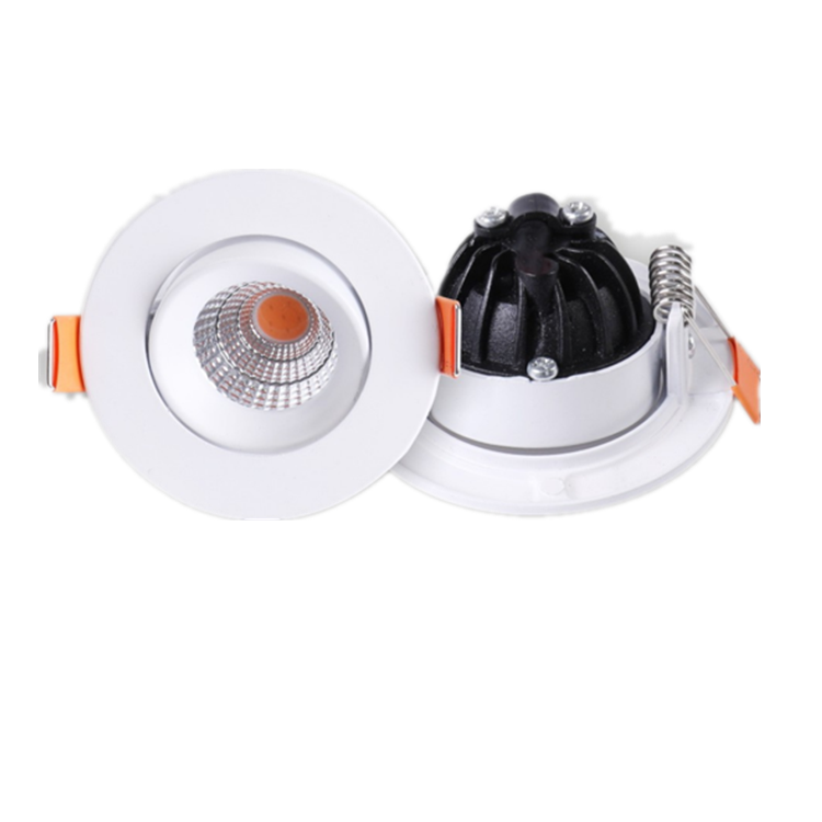 New design modern decorative round 5w recessed led spotlight housing