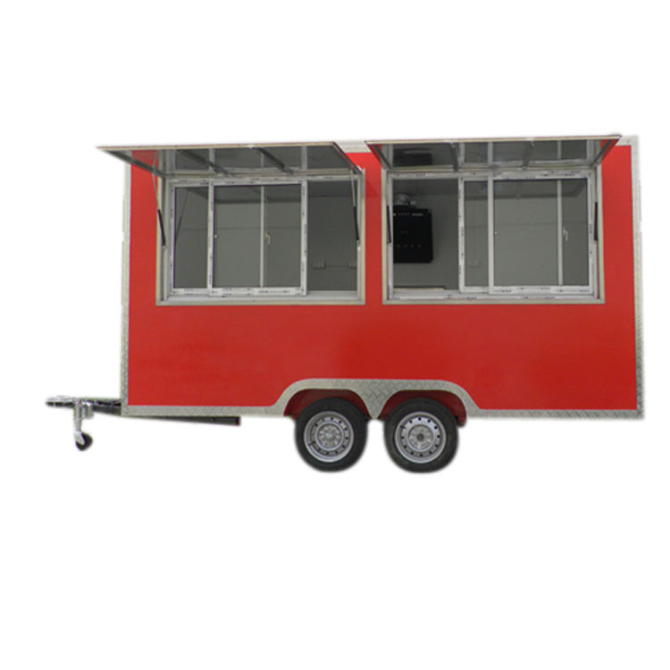 Multifunctional on site processing fast food truck street view food truck food truck for sale europe