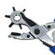 Multifunctional Belt Hole Puncher with 6 Holes Leather Hole Punch for Leather Belts Fabric