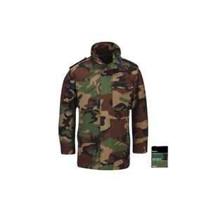 Woodland Camouflage Military M65 Field Parka Jacket