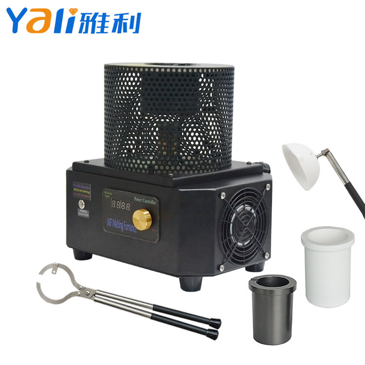 2KG Silver Gold Mini Metal Melting Induction Furnace For Sale Without Temperature Control 1600 Degree