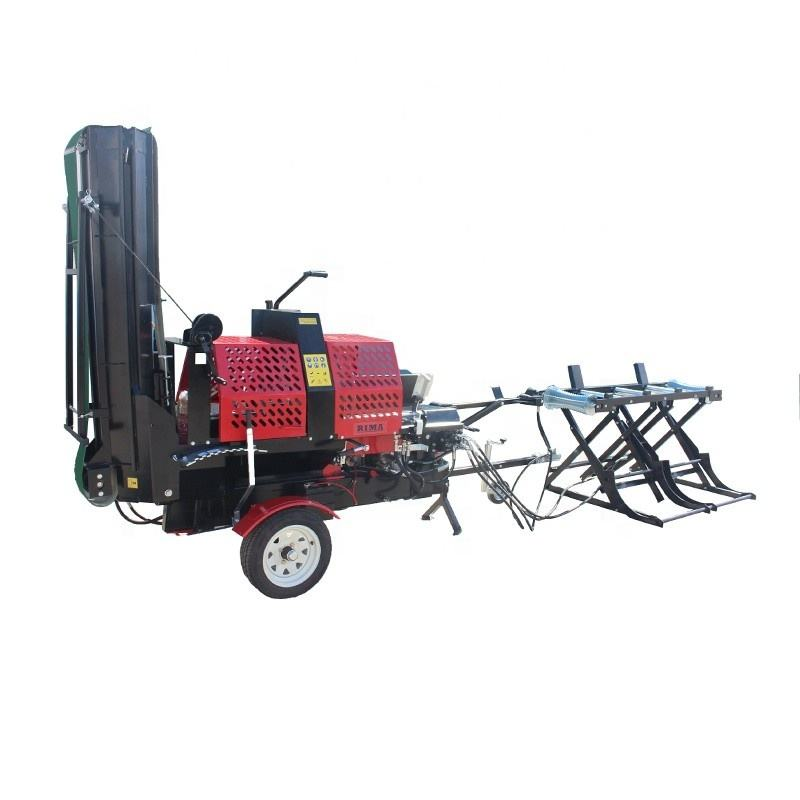 Wood processor rima/fire wood processor/log splitter