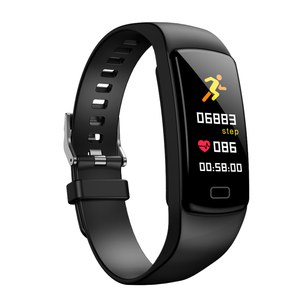 Customized IP67 Waterproof Activity Tracker Smartband Y9 Fitness Bracelet Heart Rate Smart Bracelet with logo printing