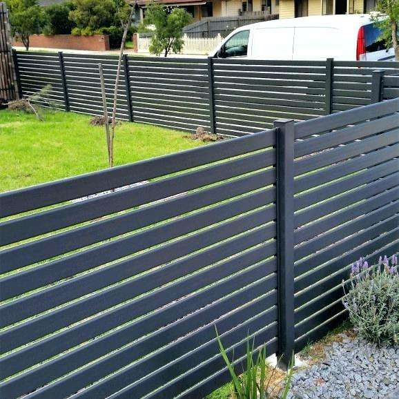 Aluminium welded gates and slat fencing in Perth