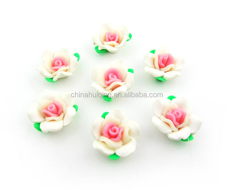 Beautiful handmade wholesale small artificial polymer clay flower