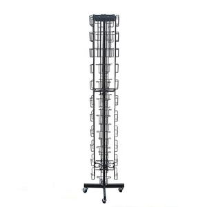 2020 anpassen rotierenden metall draht gruß karte halter display rack, geschenk karte display, DIY kits display rack
