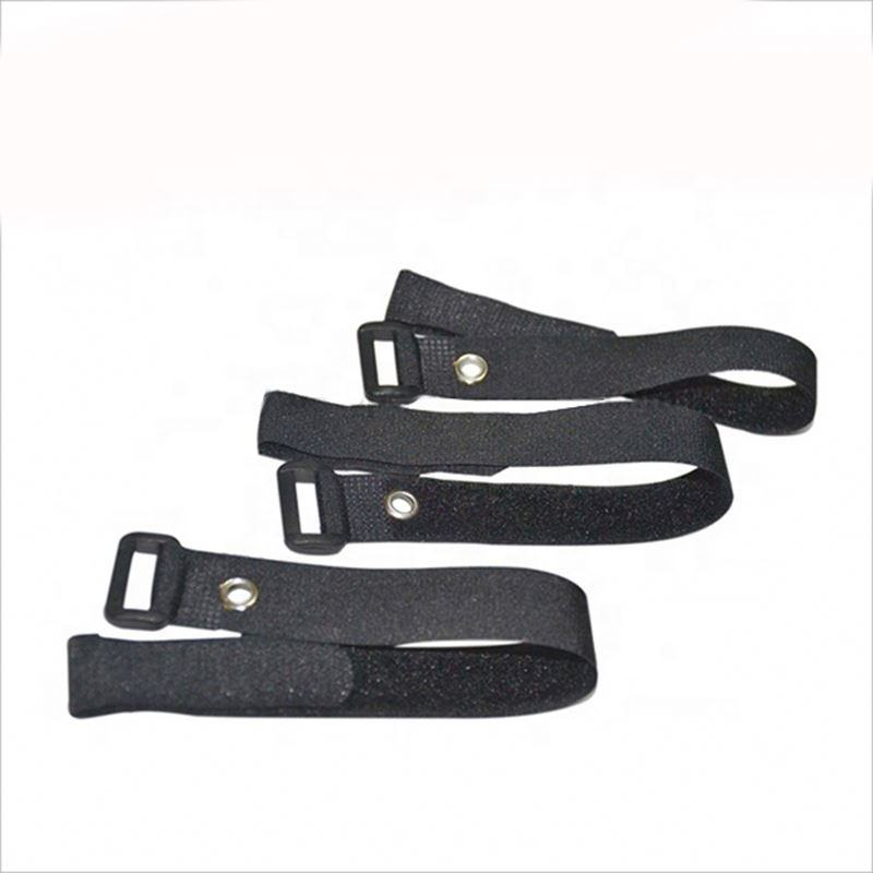 Good Quality Elastic plastic fastening belt rubber hook and loop