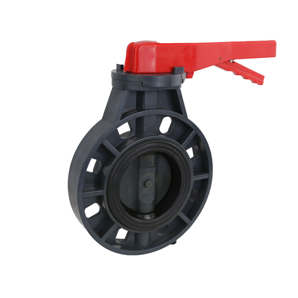 Butterfly Valves [ Flange Valve ] UPVC Manual Operated Flange Plastic Butterfly Valve