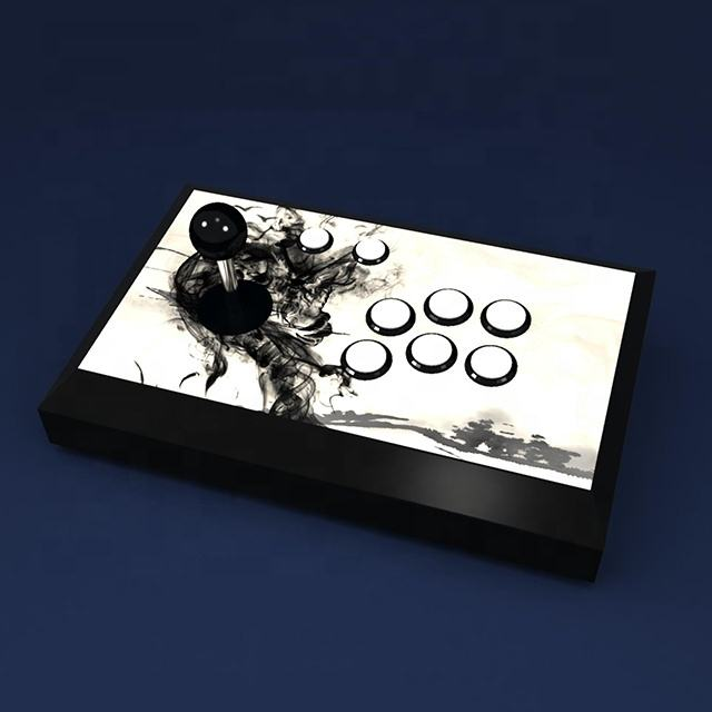 Hot-selling factory private mold USB wired gamepad arcade joystick arcade fighting game rocker for PC