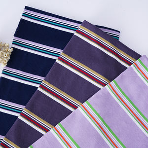 185g cotton stripe fabric designs jersey fabric online purple single knit fabric