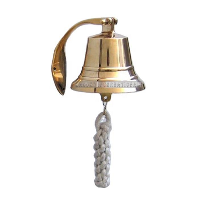 Handicrafts Of Nautical Ship Bell With Brass Antique