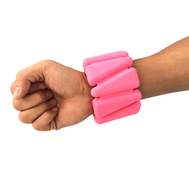 Adjustable Hand Wrist Support Bands Skin-friendly Silicone Arm Weight Lifting Straps Strengthen Training Tool for Body Building