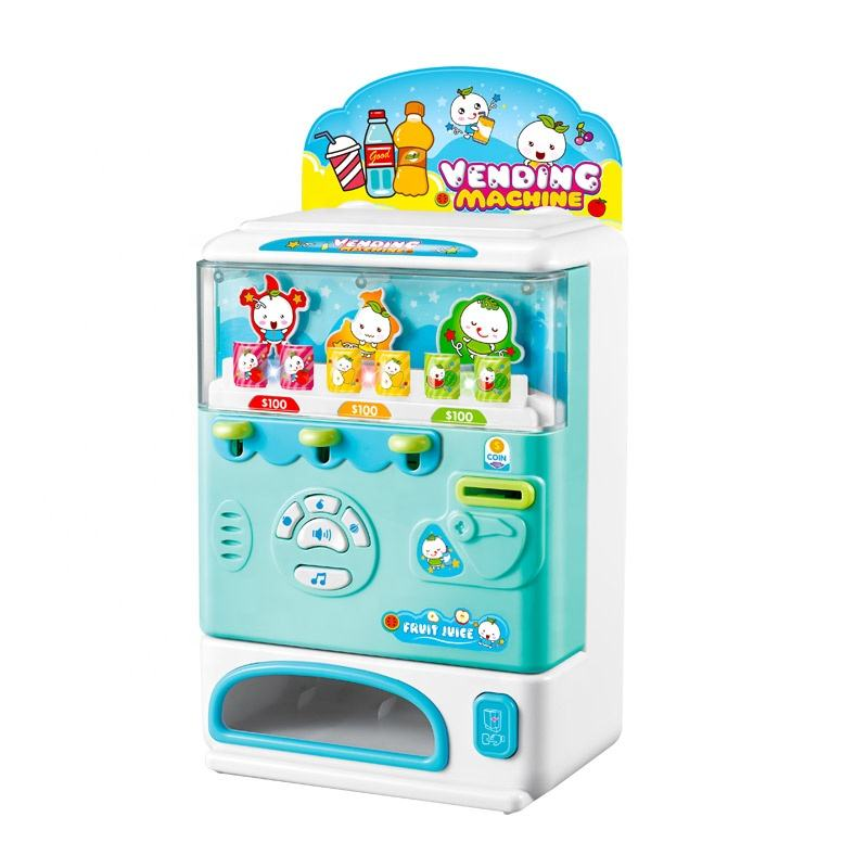 Cute [ Hot Toy ] A Toy Amazon Hot Selling Cute And Funny Drink Vending Machine Toy For Kids
