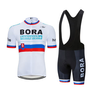 2020 Wholesale Summer Sports  Short Sleeve Men Pro Mtb Road Bike Team Cycling Jerseys Bib Shorts Cycling Wears/