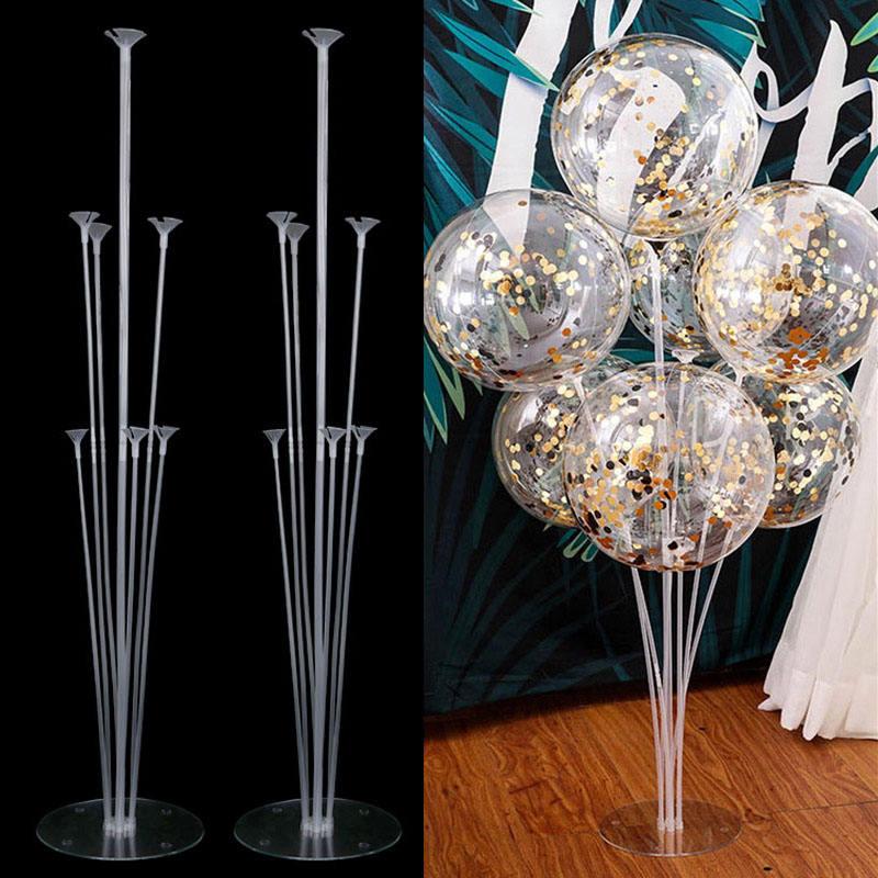 De arco de globos soporte globos palo está Kit de Casa decoración boda globo árbol de arco soporte Ballon