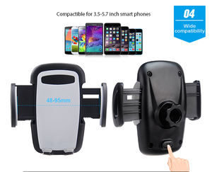 Factory Whole Sales Easy Mounting 360 Rotating Mobile Phone Car Air Vent Holder for Universal Smartphones