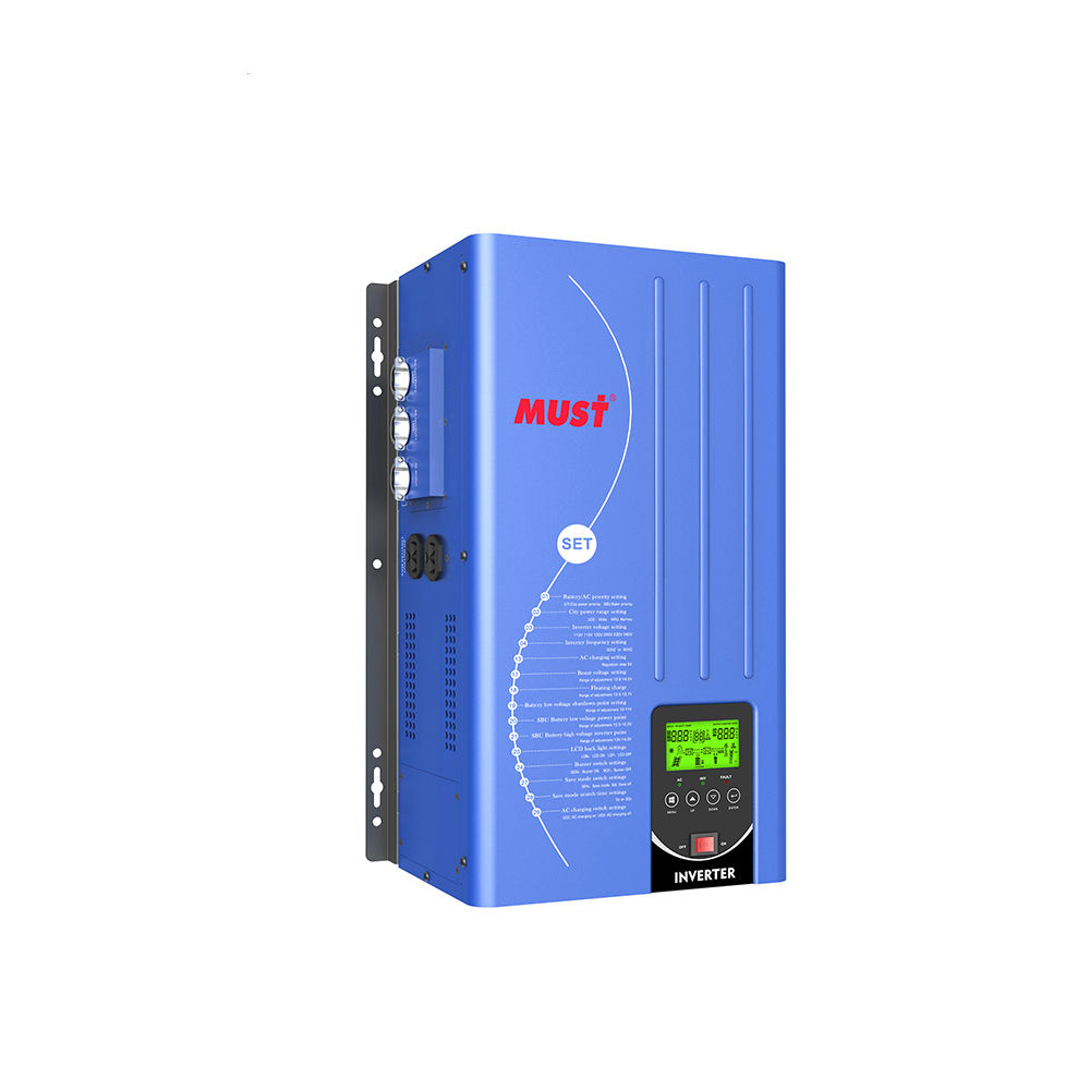 MUST Off Grid Solar Inverter 1KW 2KW 3KW 4KW 5KW US Voltage 120V 240V Split Phase