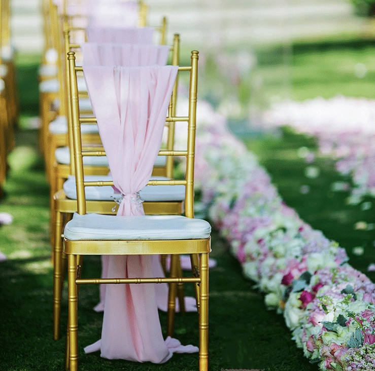 Hot Sale Hotel Banquet Gold Tiffany Chiavari Chair For Outdoor Wedding